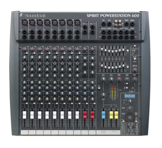 SPIRIT Powerstation by Soundcraft